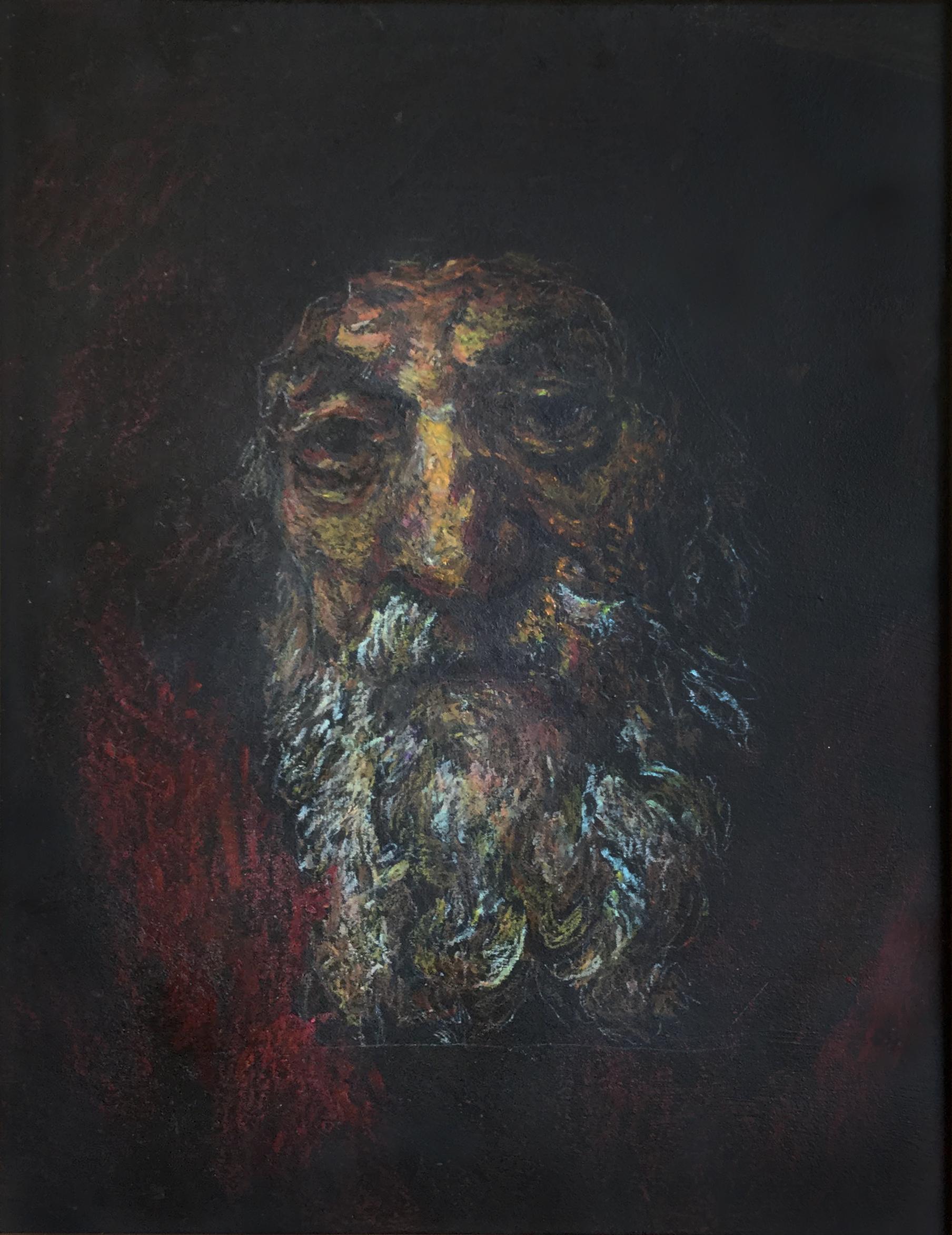 Portret starca - kopia z Rembranta
