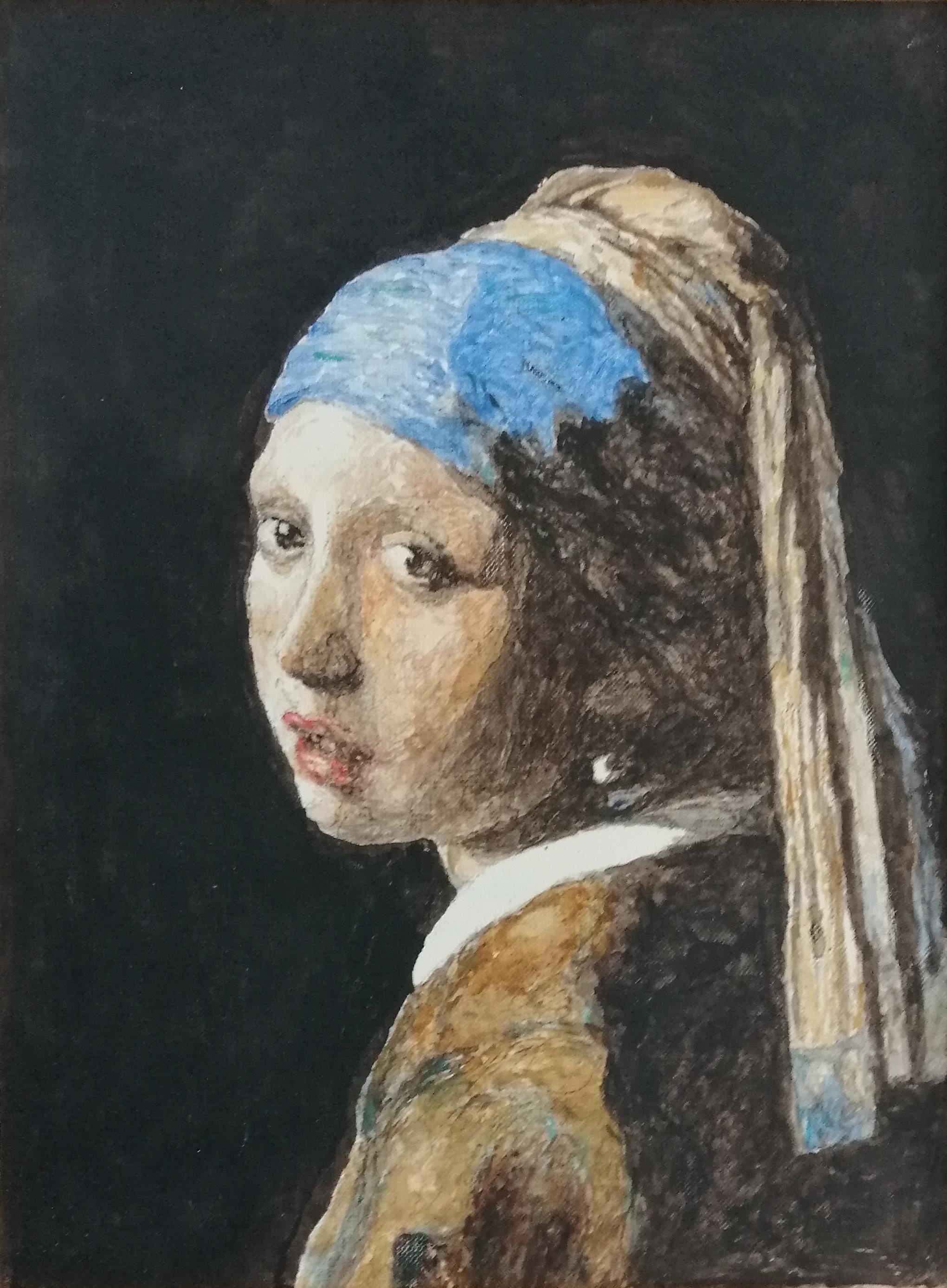 Dziewczyna z perłą - kopia Wernera