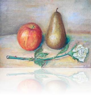 Owoce z różą