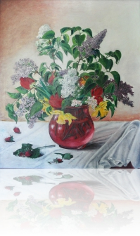 Kompozycja kwiatow