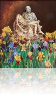 Pieta wśród kwiatów