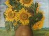 Słoneczniki na pniu